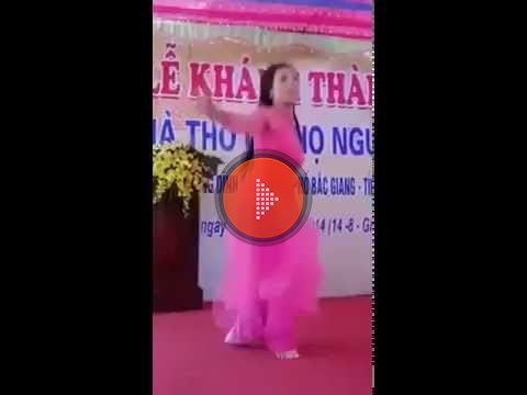 Anh che Thieu nu quay tung bung trong le khanh thanh